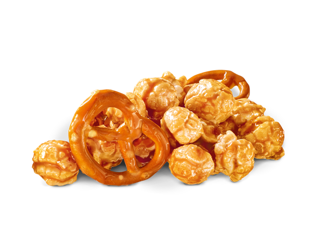 Sea Salt & Pretzel Popcorn