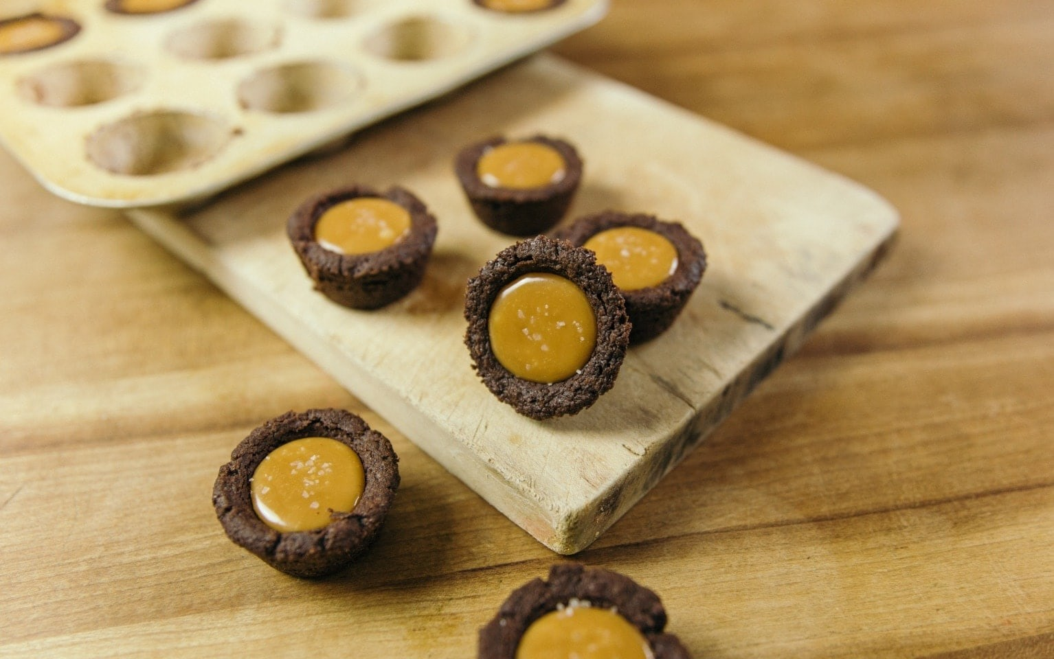 Salted Caramel Chocolate Shortbread